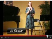 brittany - singing lessons by cindy