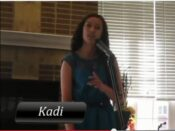 kadi recital with singing lessons by cindy